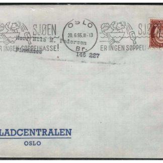 Bilde av norskt brev